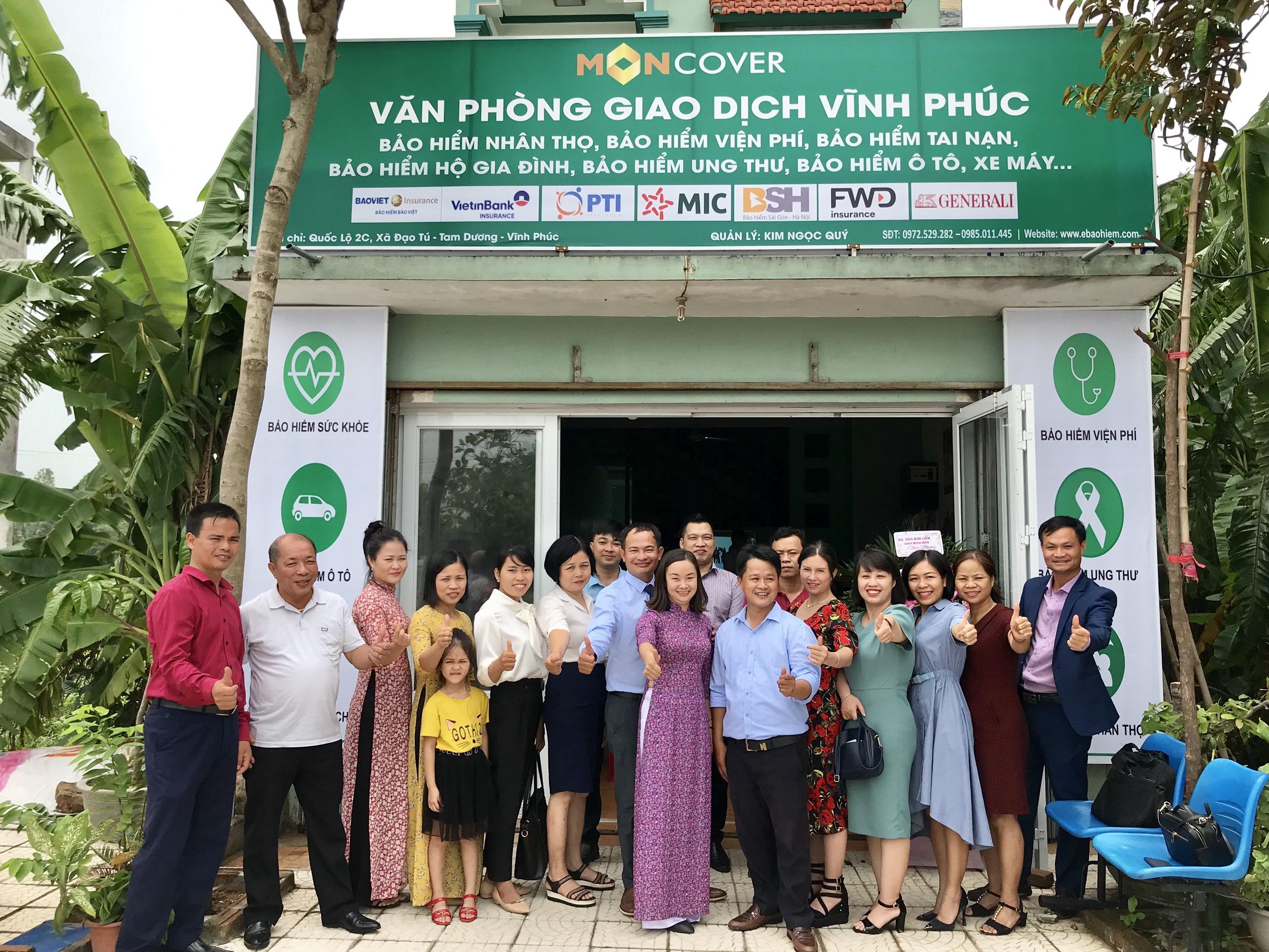 Lễ ra mắt Văn phòng giao dịch Moncover Vĩnh Phúc