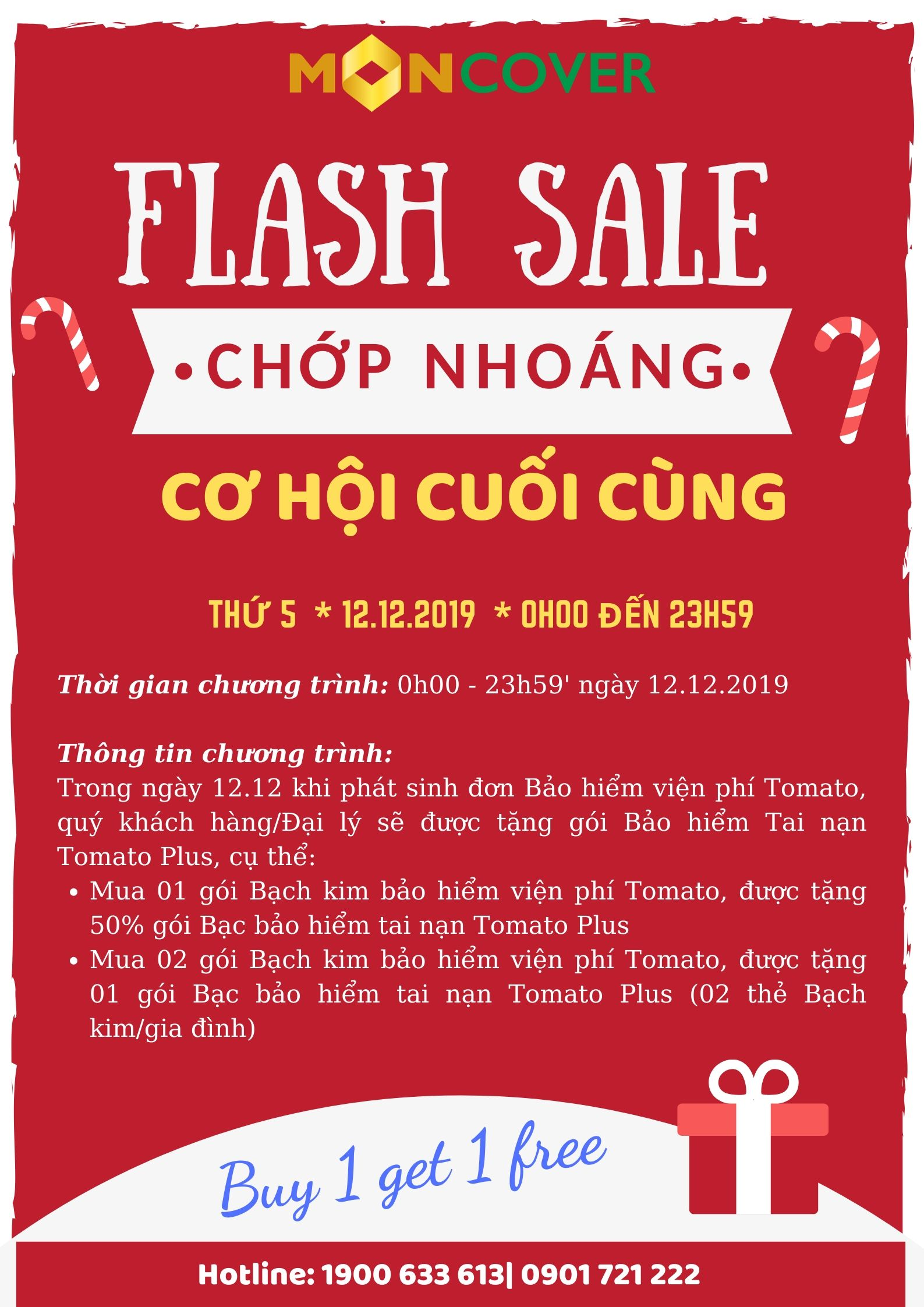 Flash sale chop nhoang
