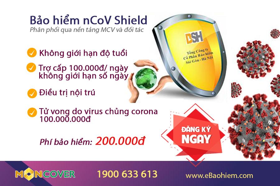 bảo hiểm ncov shield
