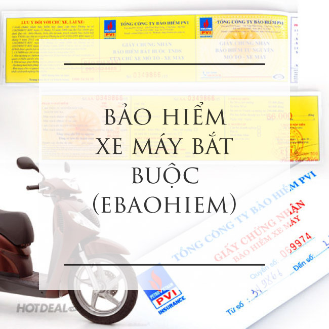 bảo hiểm xe máy bắt buộc