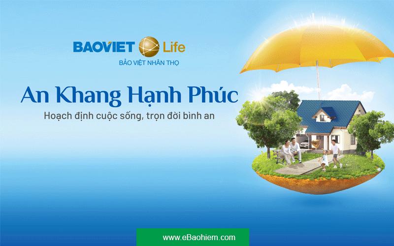 bảo hiểm an khang hạnh phúc Bảo Việt