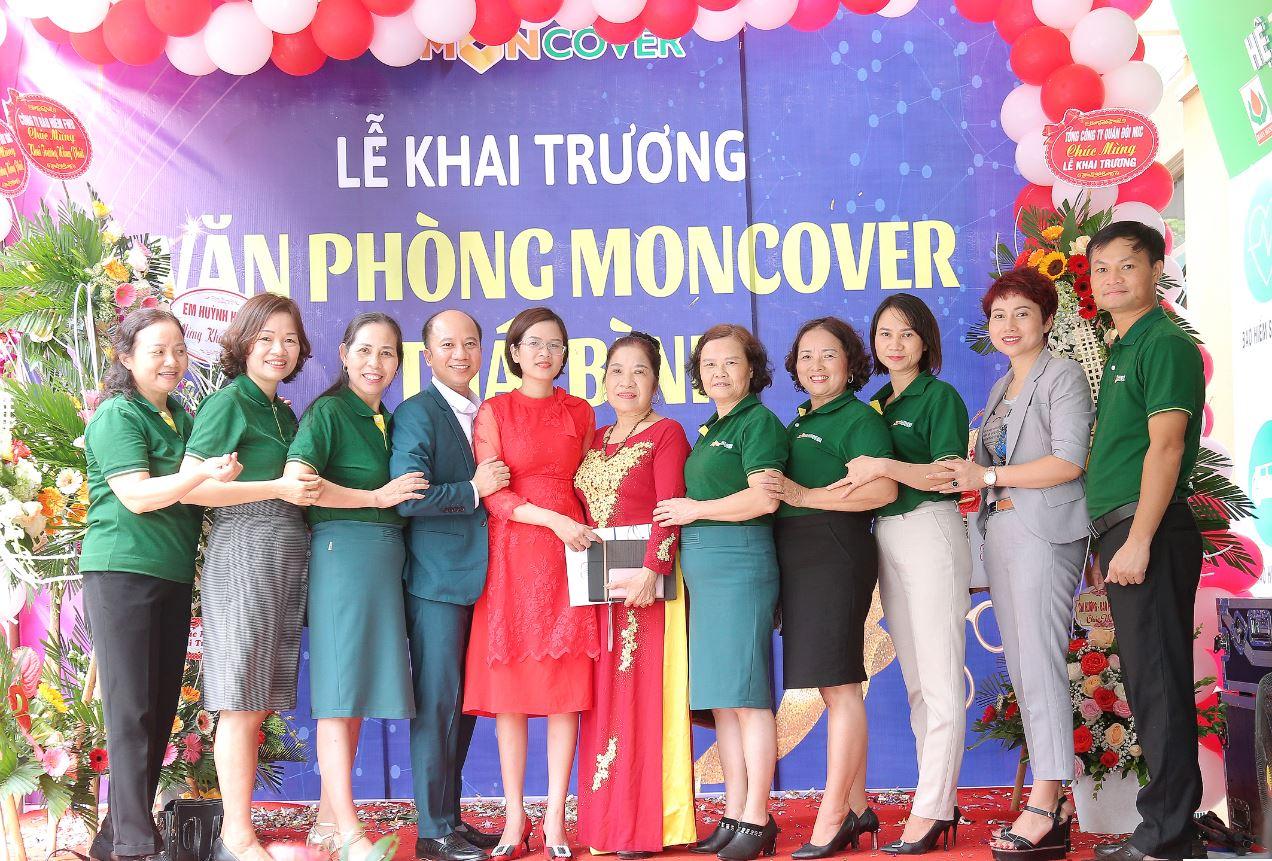 Bảo hiểm Moncover khai trương văn phòng Thái Bình